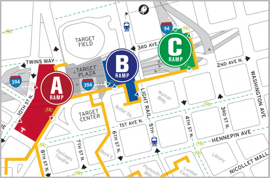 Map of ABC ramps