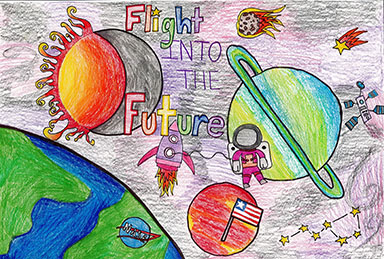 2018 Minnesota Aviation Art Contest | 2nd Place State Winner | Age Group 6-9 | Avery Nelson