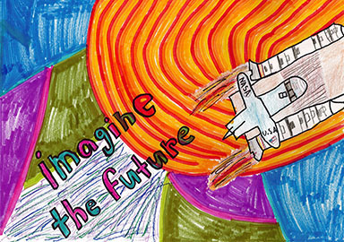 2018 Minnesota Aviation Art Contest |3rd Place State Winner | Age Group 6-9 | Frannie Wachholz