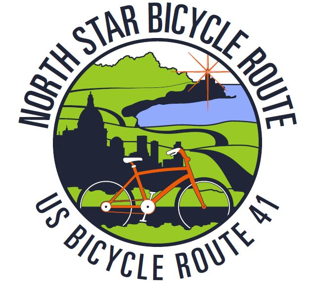 U.S. Bicycle Route 41 logo