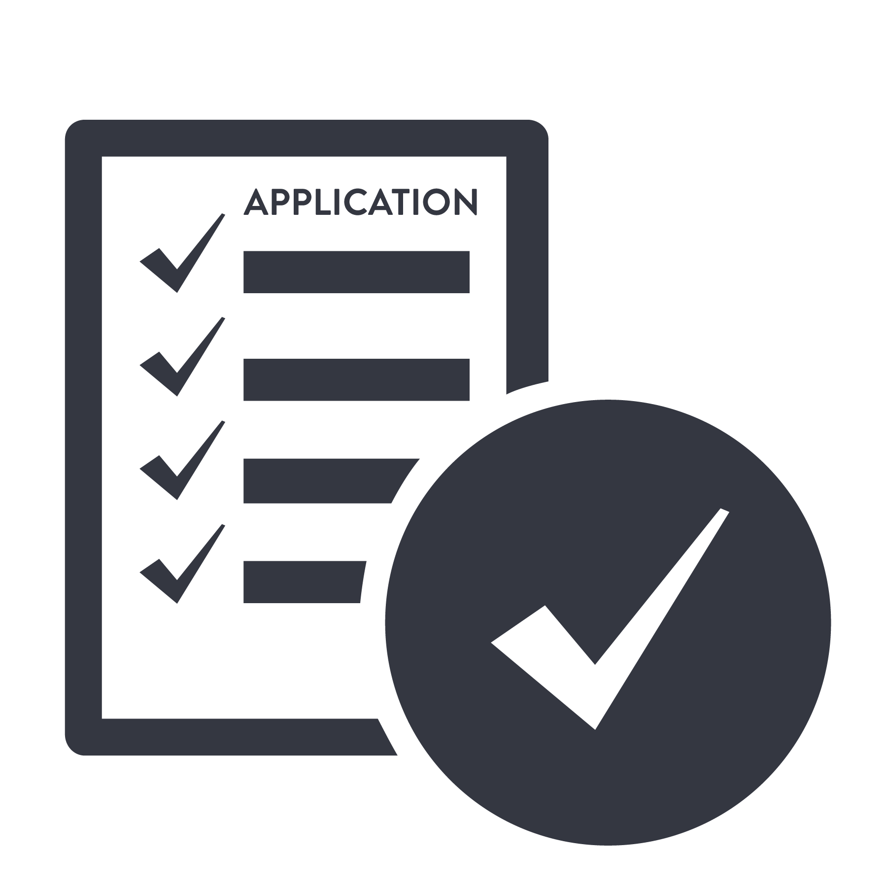 Application steps icon