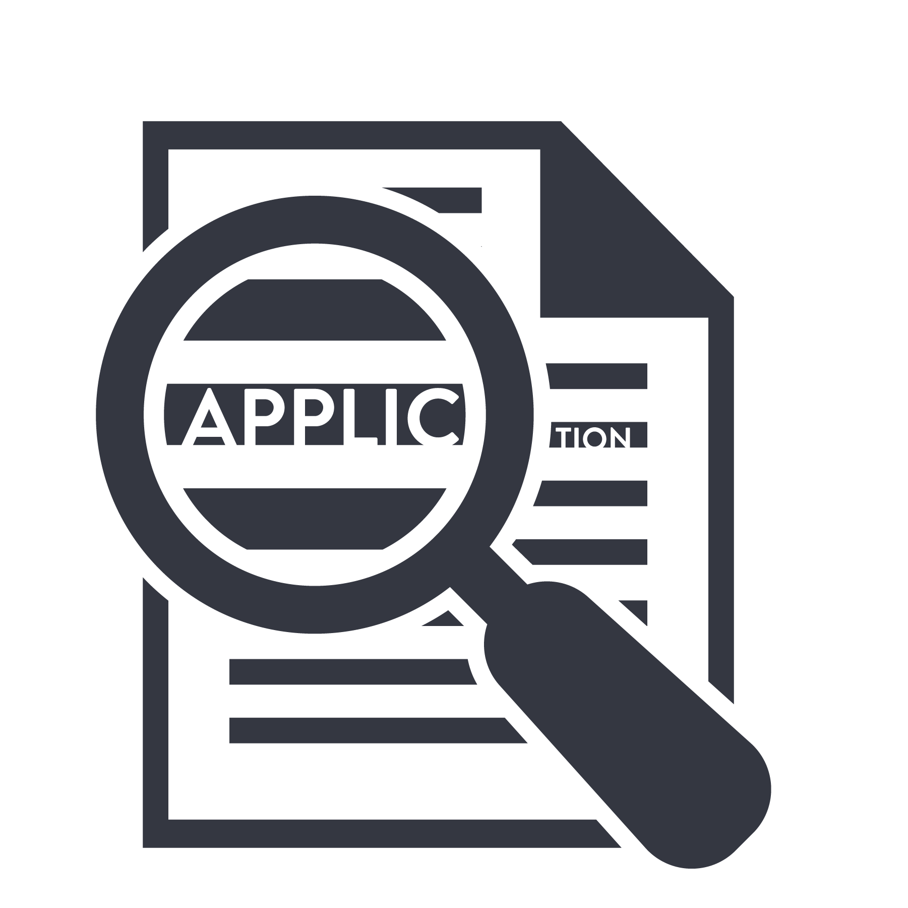 Hiring process icon