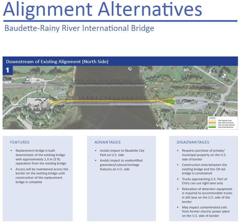Alignment Alternative 1