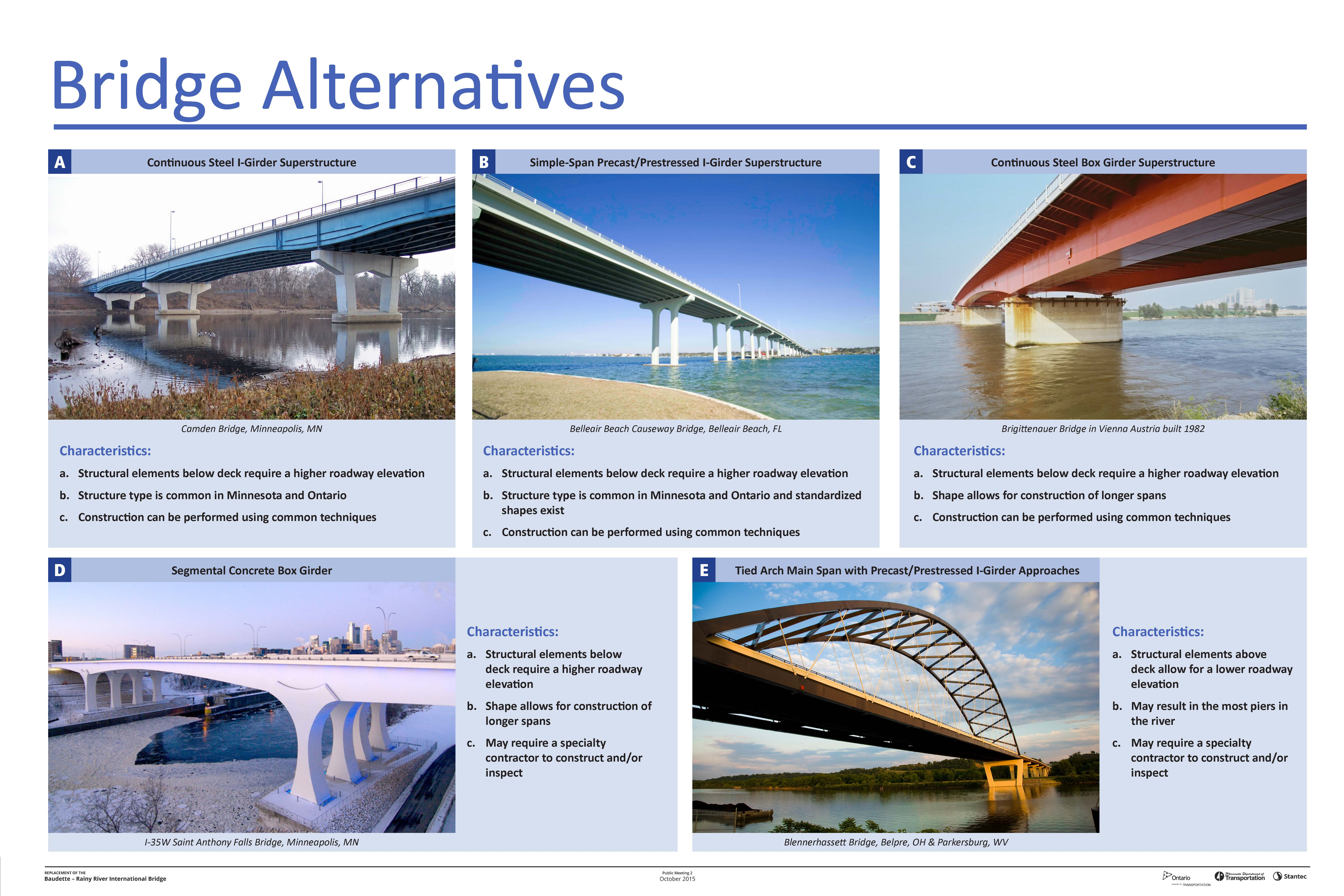 Bridge Alternatives