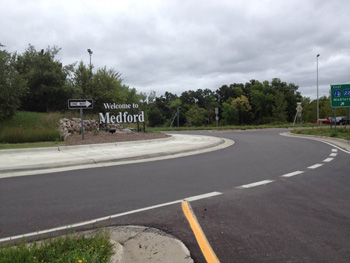 medford roundabout