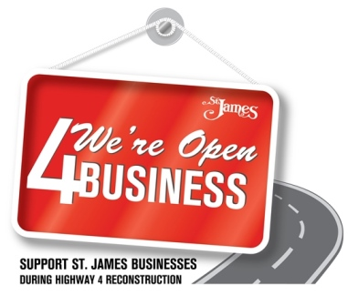 Hwy 4 businesses are open
