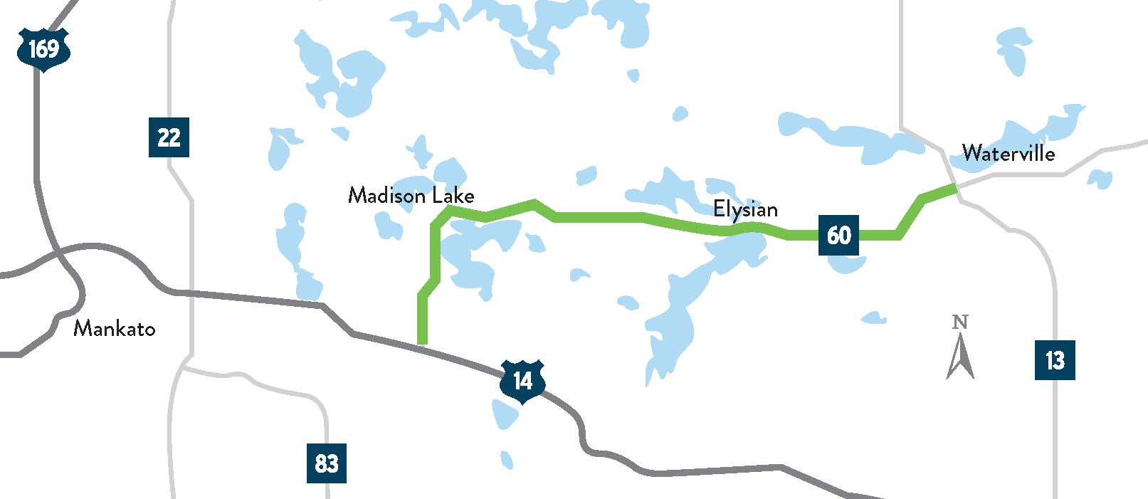 Hwy 60 Madison Lake, Elysian, Waterville - MnDOT