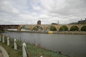 Historic Bridges James J Hill Stone Arch Bridge Bridge