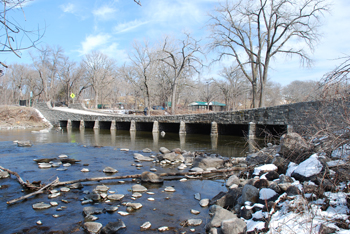 Ramsey Park Swayback Bridge