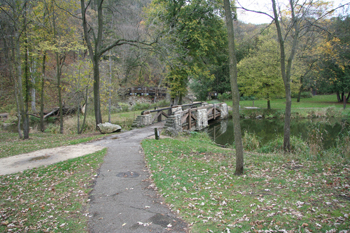 Whitewater State Park Recreational Dam and Footbridge