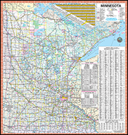 2017-2018 Minnesota Official State Highway Map