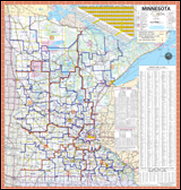 Trunk Highway System Map