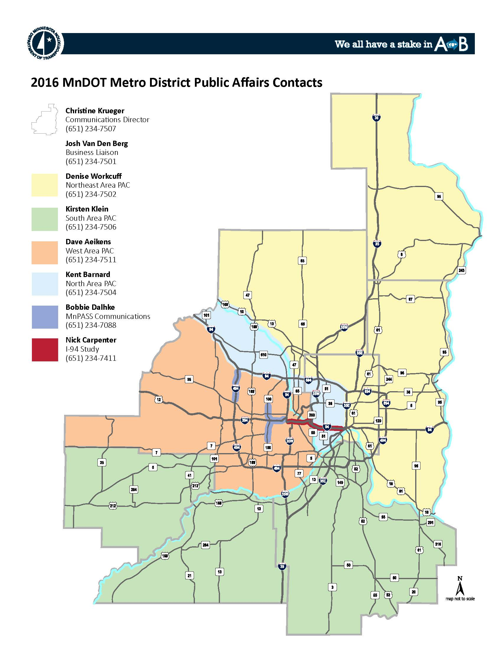 Contacts for Metro District