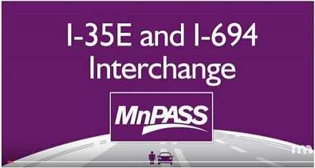 MnPASS - I-35E and I-694 Interchange