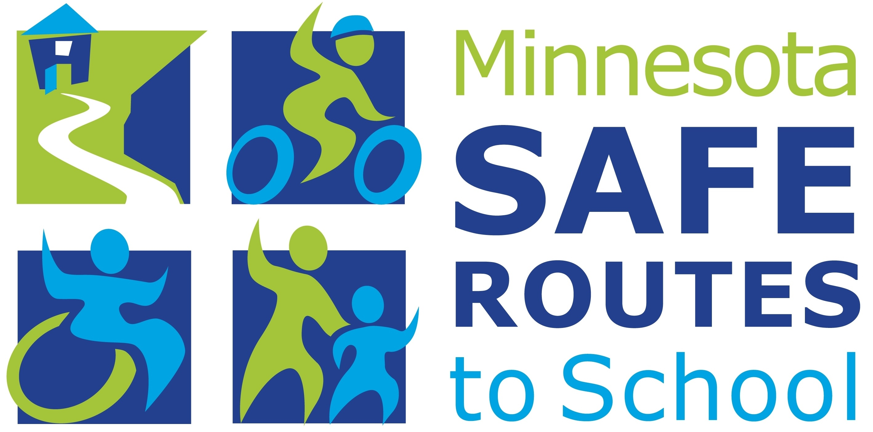 Minnesota Safe Routes to School logo