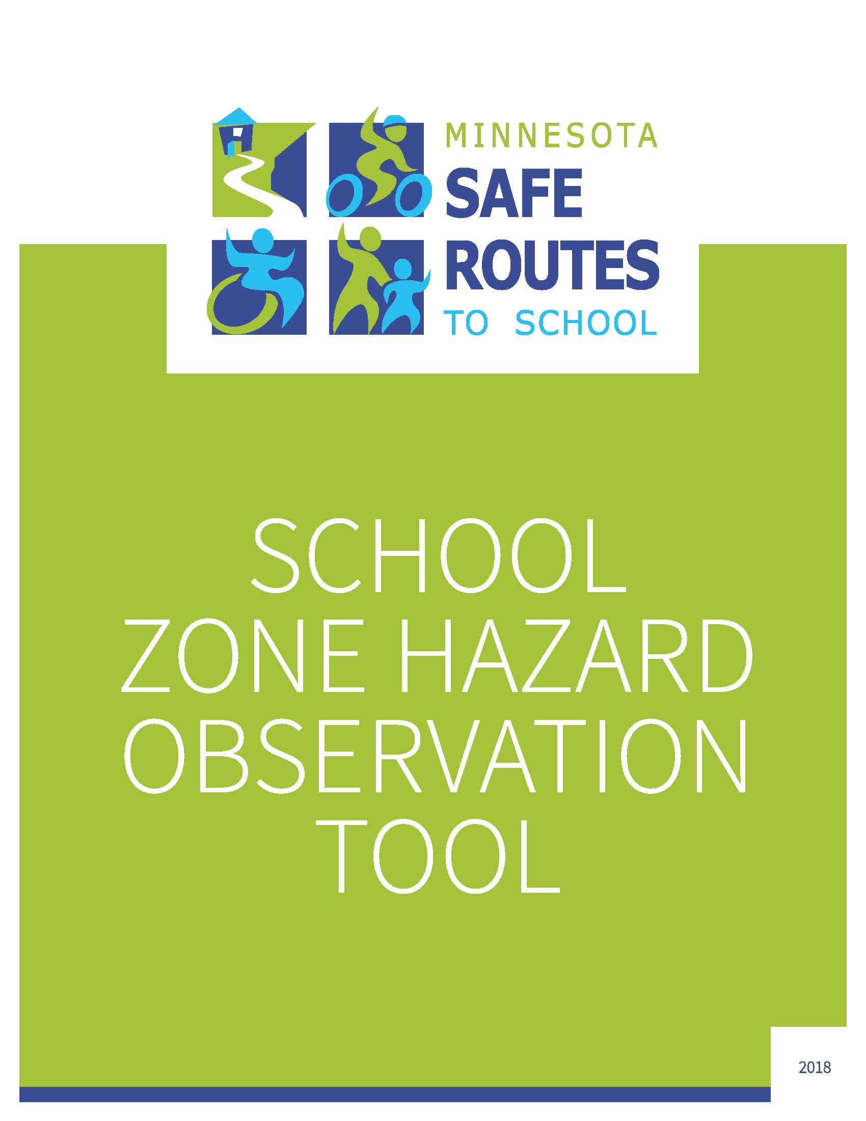 Cover of MnSRTS Hazard Observation Tool