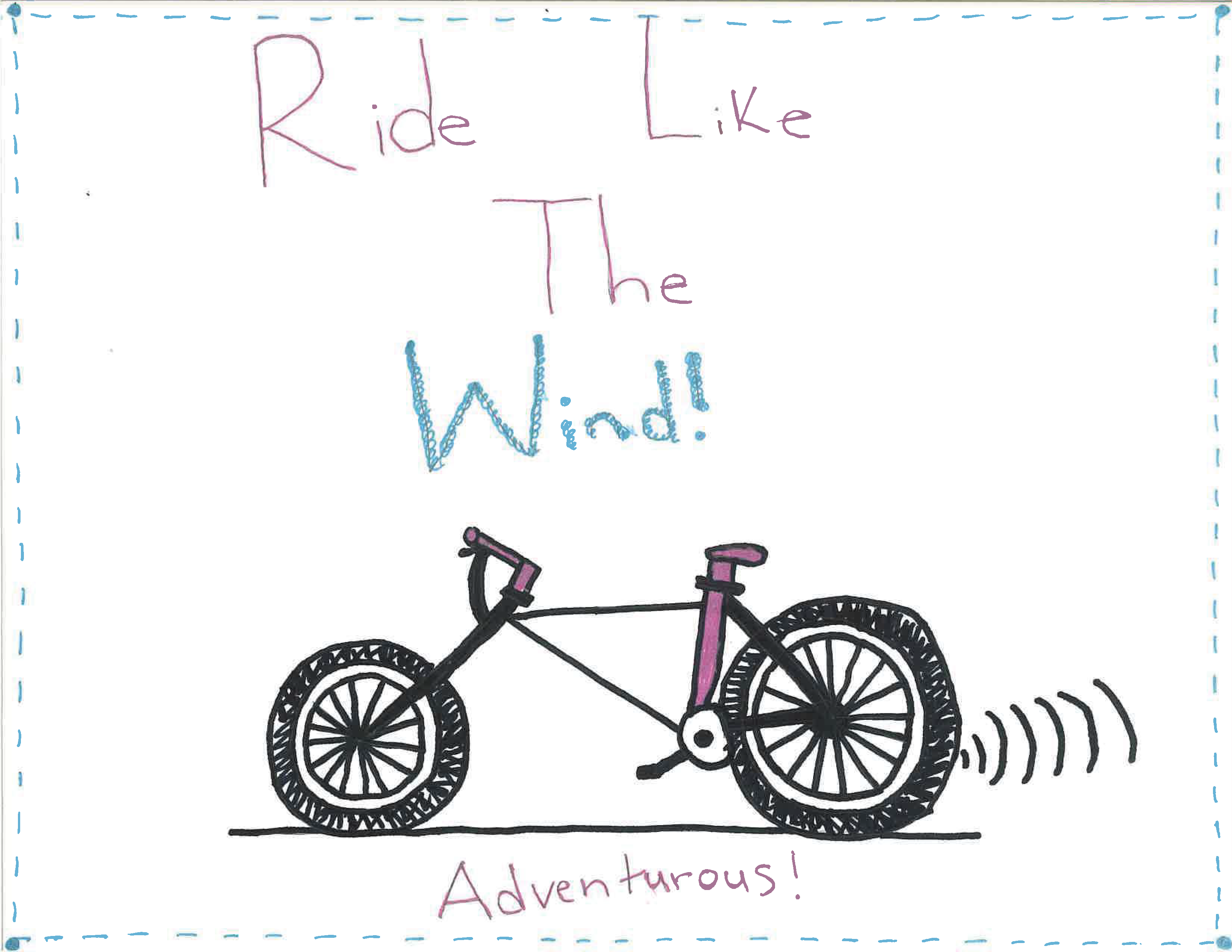 image of adventure bicycle