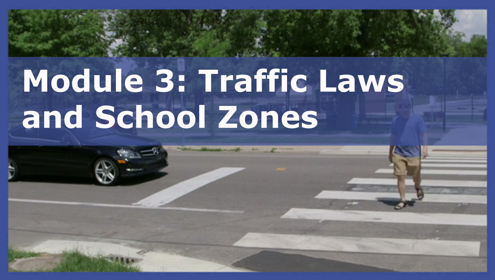 Photo of Module 3: Traffic Laws and School Zones