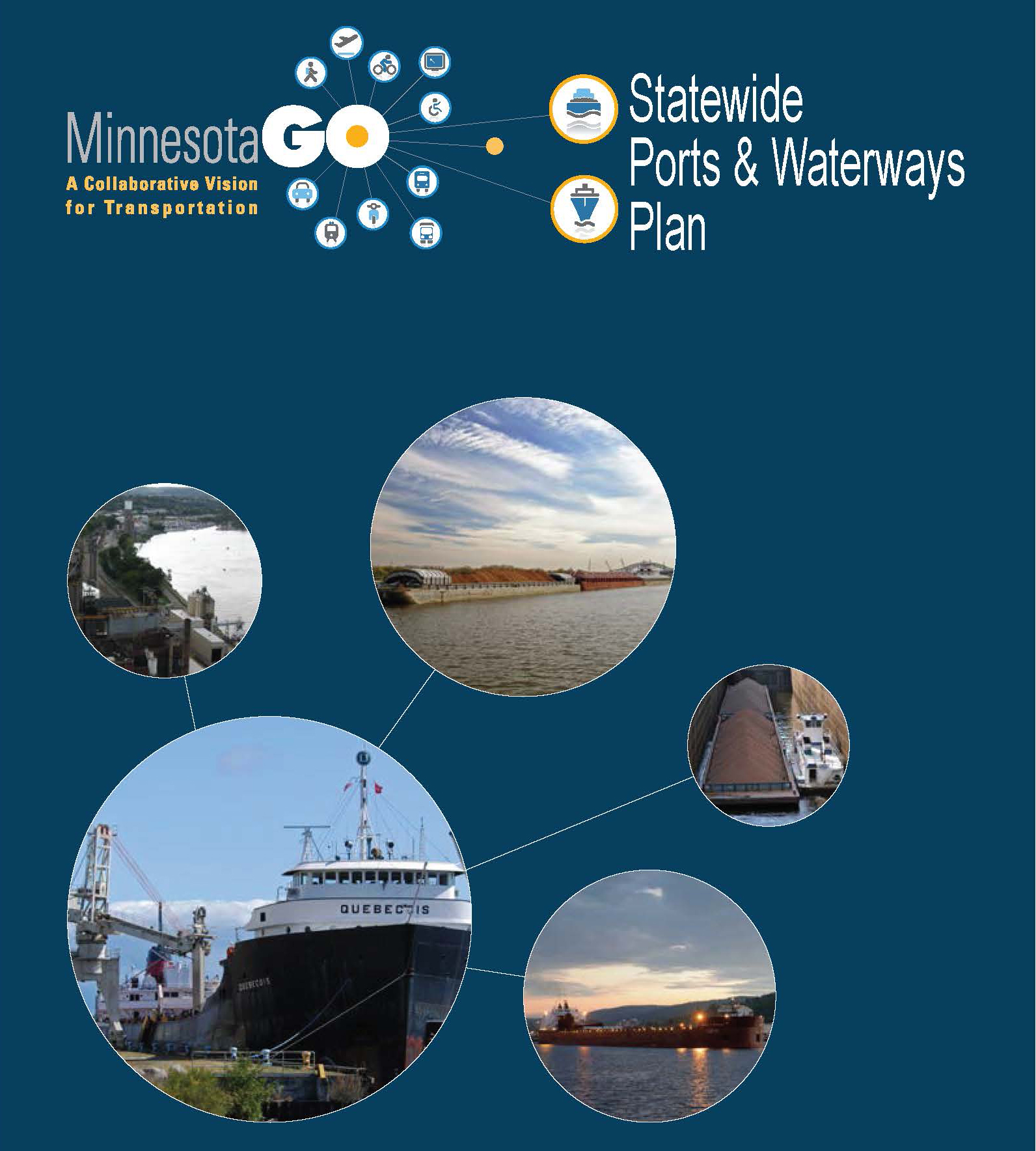 Ports and Waterways plan logo