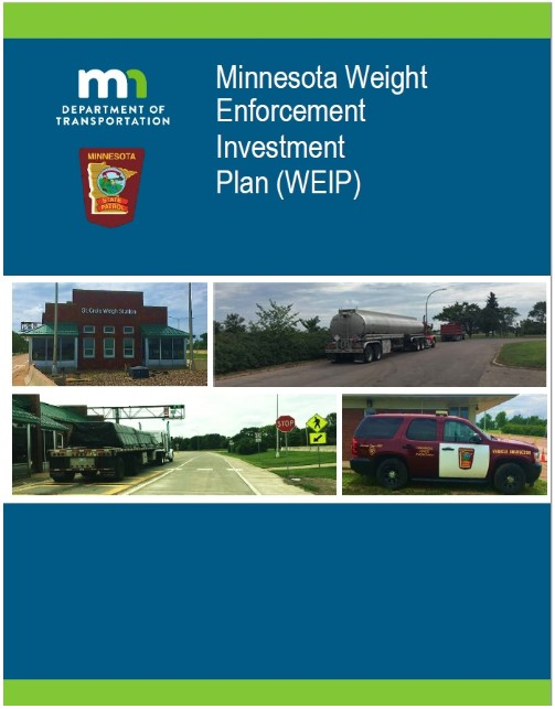 Minnesota Weight Enforcement Investment Plan cover page
