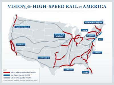 Passenger Rail In Minnesota High Speed Rail - High speed rail us map