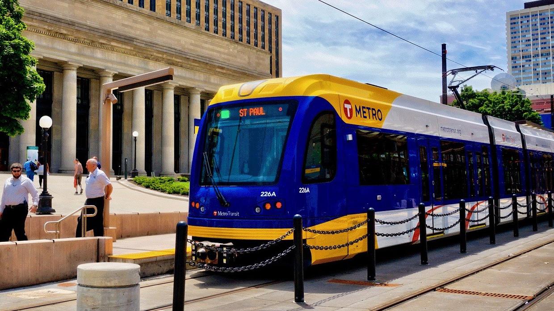 Metro Transit's Green Line light rail