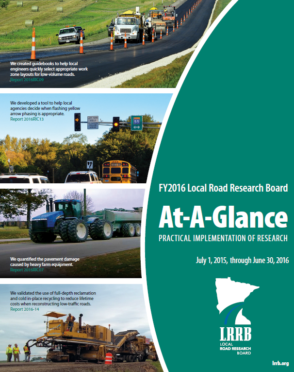 FY2016 At-A-Glance Cover