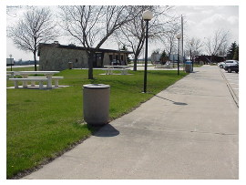 image of adrian rest area