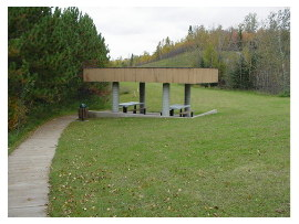 image of anchor lake rest area