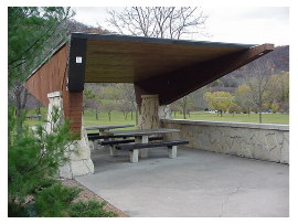 image of dresbach rest area