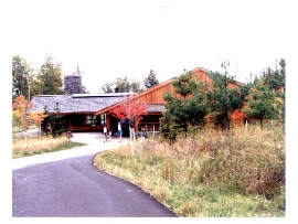 image of gooseberry falls rest area