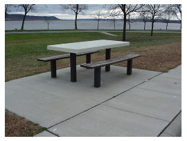 image of lake pepin rest area