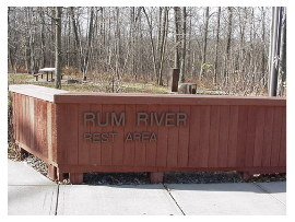 image of rum river rest area
