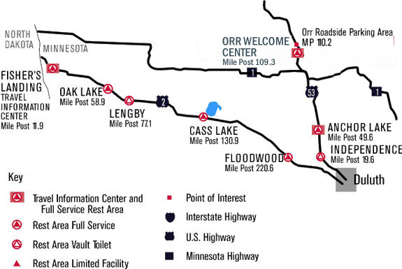 map of us 2 and us 53