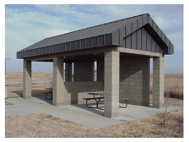 image of worthington rest area