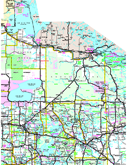 Official Minnesota State Highway Map - Mn on us map