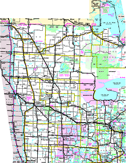 Official Minnesota State Highway Map - District of downloadable us road map