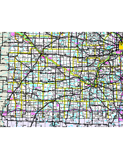 Official Minnesota State Highway Map - Southwest us county map