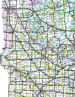 Official Minnesota State Highway Map - Us-road-maps-for-sale