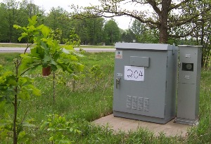 Located along US 169 near Onamia, ATR 204 collects volume, speed, and classification data.