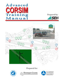 Advanced CORSIM Training Manual cover