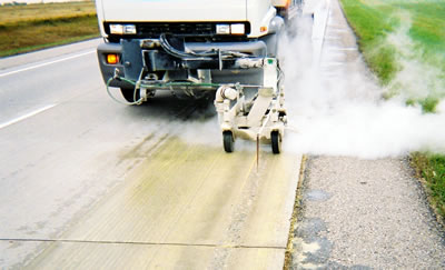 Pavement groover machine