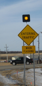 Rural Intersection Conflict Warning System
