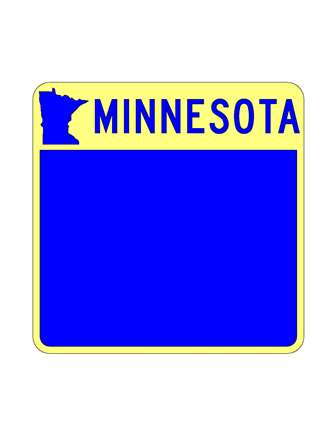 minnesota highway sign