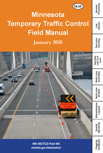 minnesota temporary traffic control field manual cover