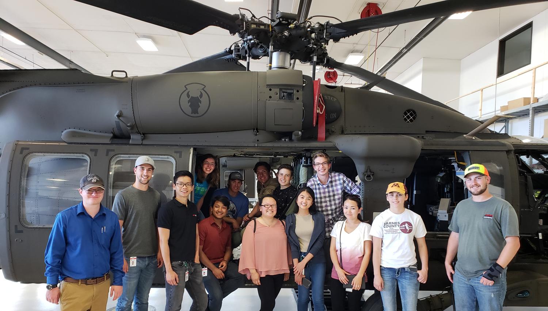 2018 Civil Engineering Internship Program Students