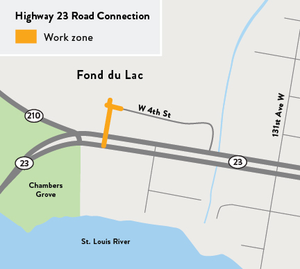 Hwy 23 project map