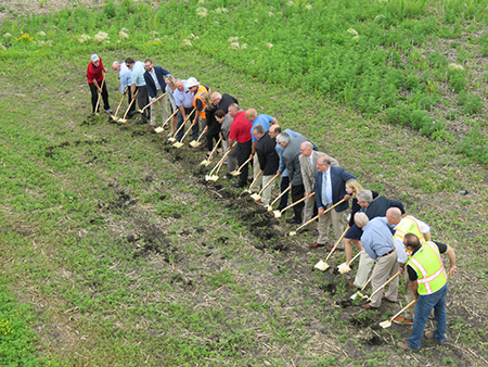 Willmar Wye Groundbreaking Ceremony