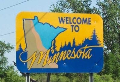 minnesota entry sign