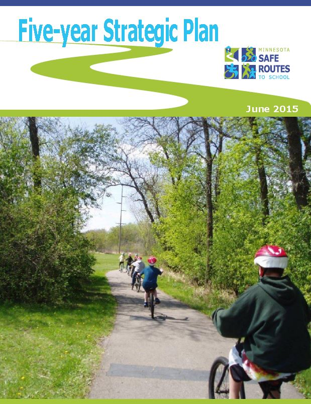 Cover of Five-year Strategic Plan document from June 2015